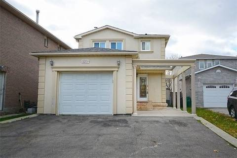 House for rent at 5209 Palomar Cres Mississauga Ontario - MLS: W4575756