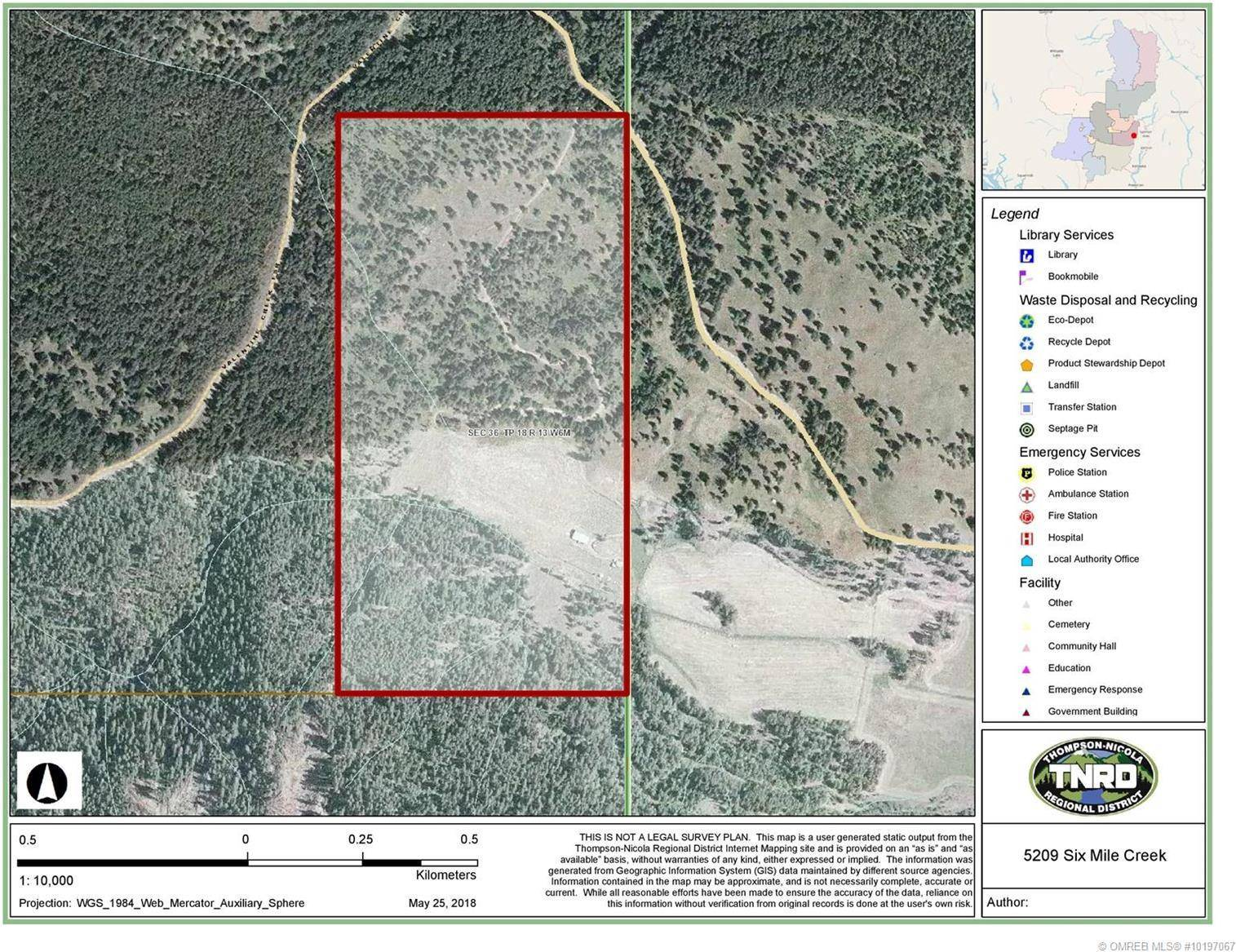 Residential property for sale at 5209 Six Mile Creek Rd Falkland British Columbia - MLS: 10197067