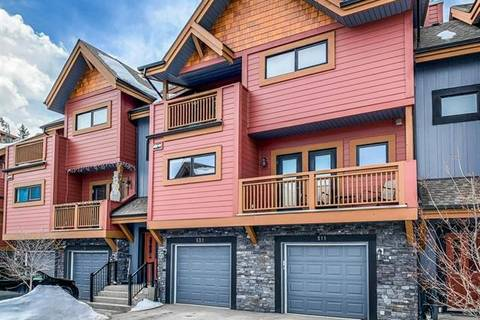 Townhouse for sale at 80 Dyrgas Gt Unit 521 Canmore Alberta - MLS: C4292434