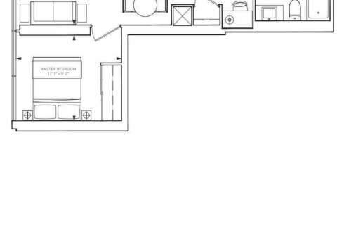Apartment for rent at 85 Wood St Unit 521 Toronto Ontario - MLS: C4768692