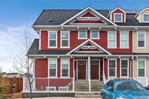 Townhouse for sale at 521 Cranford Me Southeast Calgary Alberta - MLS: C4289146
