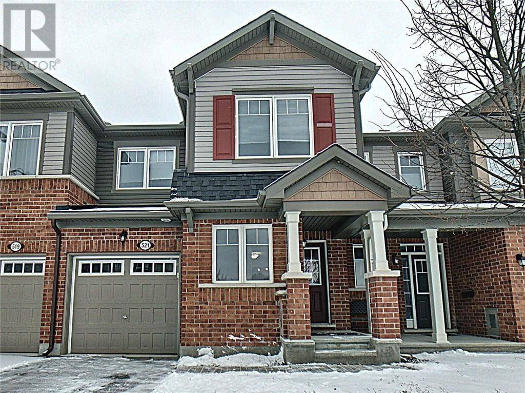 Townhouse for sale at 521 Foxlight Circ Nepean Ontario - MLS: 1177278