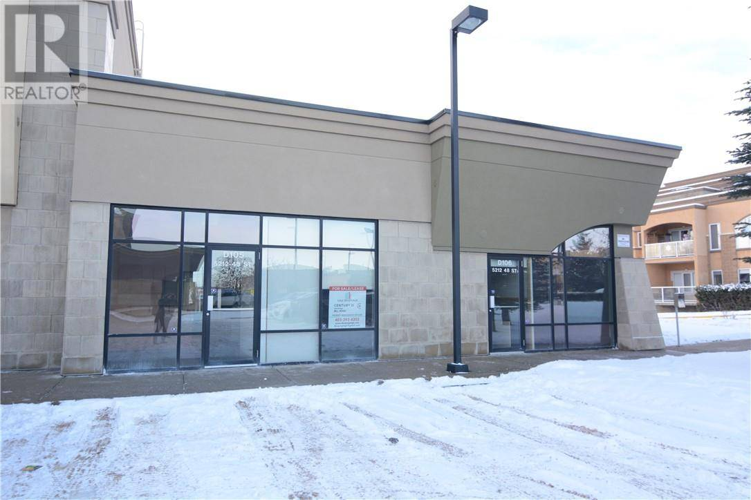 Commercial property for lease at 5212 D105 L St Red Deer Alberta - MLS: ca0189328