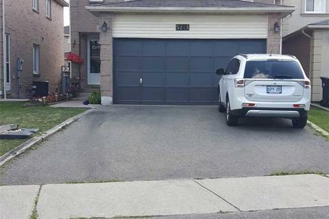 House for sale at 5213 Palomar Cres Mississauga Ontario - MLS: W4543155