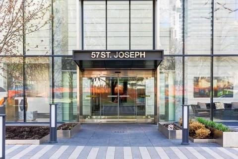Condo for sale at 57 St Joseph St Unit 523 Toronto Ontario - MLS: C4460299