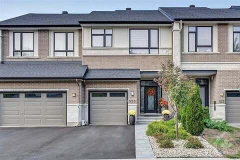 House for sale at 523 Stargazer Cres Ottawa Ontario - MLS: 1210855