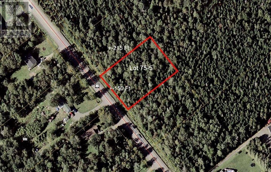 Residential property for sale at Lot 75-5 Route 525 Champdore Rte Unit 525 Ste. Marie-de-kent New Brunswick - MLS: M127812