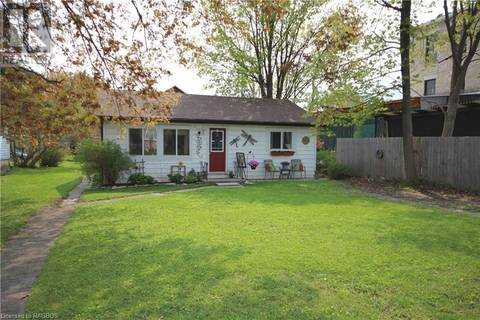 House for sale at 527 Brown St Wiarton Ontario - MLS: 199198