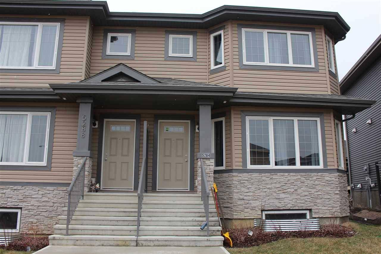 Townhouse for sale at 5284 21 Ave Sw Edmonton Alberta - MLS: E4188340