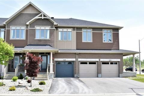 Townhouse for sale at 529 Knotridge St Ottawa Ontario - MLS: 1158075