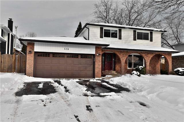 For Sale: 529 Tipperton Crescent, Oakville, ON | 4 Bed, 4 Bath House for $1,125,000. See 20 photos!