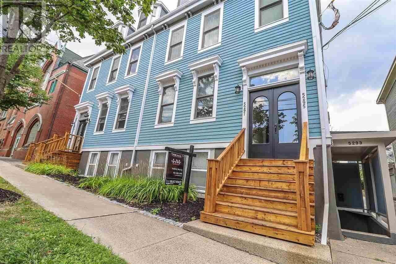 Townhouse for sale at 5295 Tobin St Halifax Nova Scotia - MLS: 202005720