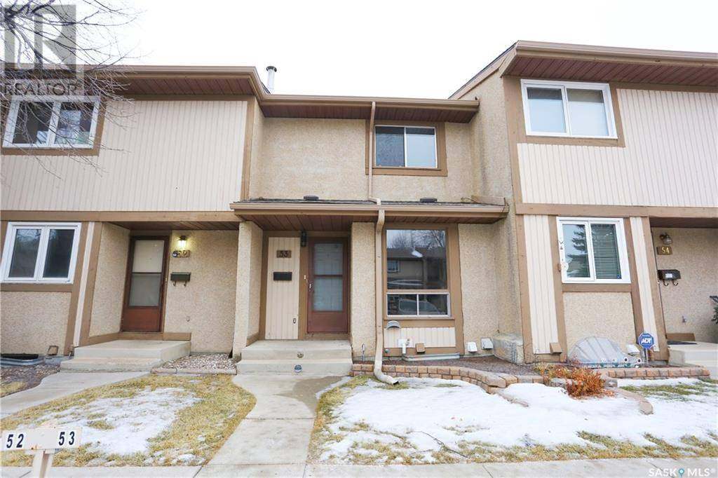 Townhouse for sale at 1128 Mckercher Dr W Unit 53 Saskatoon Saskatchewan - MLS: SK782623
