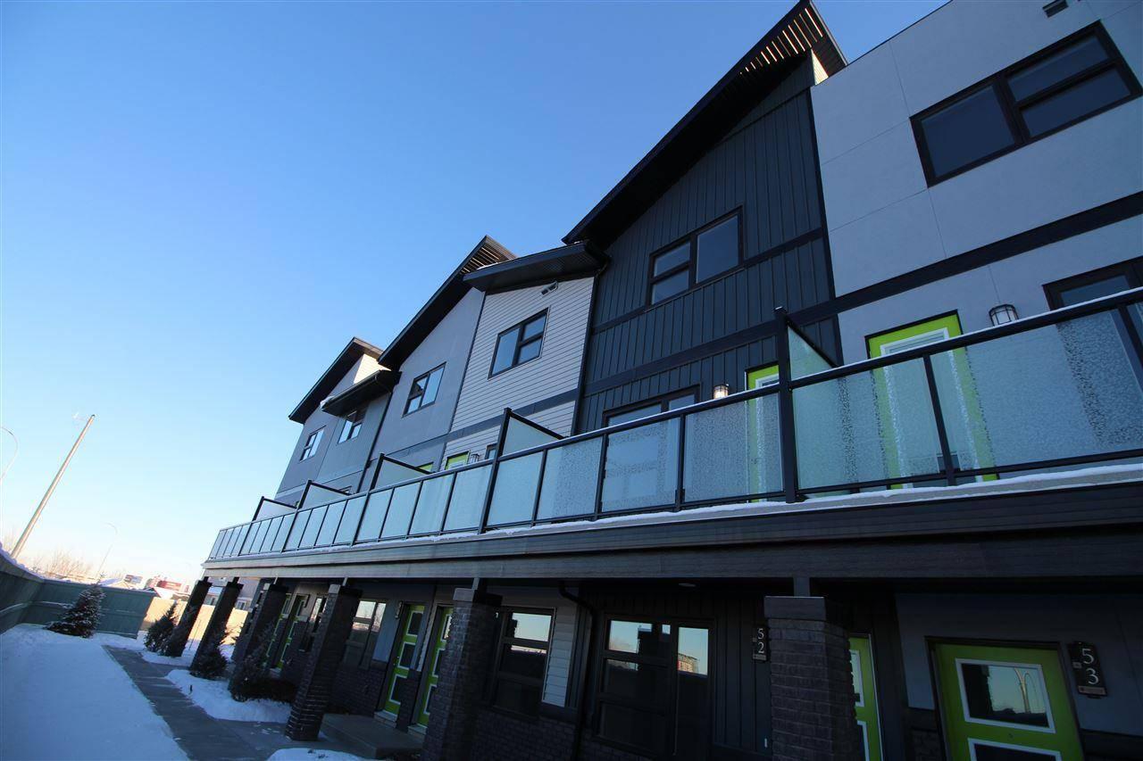 Townhouse for sale at 1203 163 St Sw Unit 53 Edmonton Alberta - MLS: E4185073