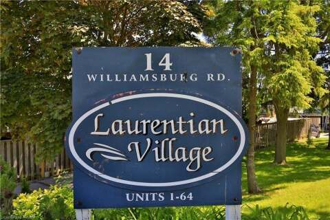 Townhouse for sale at 14 Williamsburg Rd Unit 53 Kitchener Ontario - MLS: 30814786
