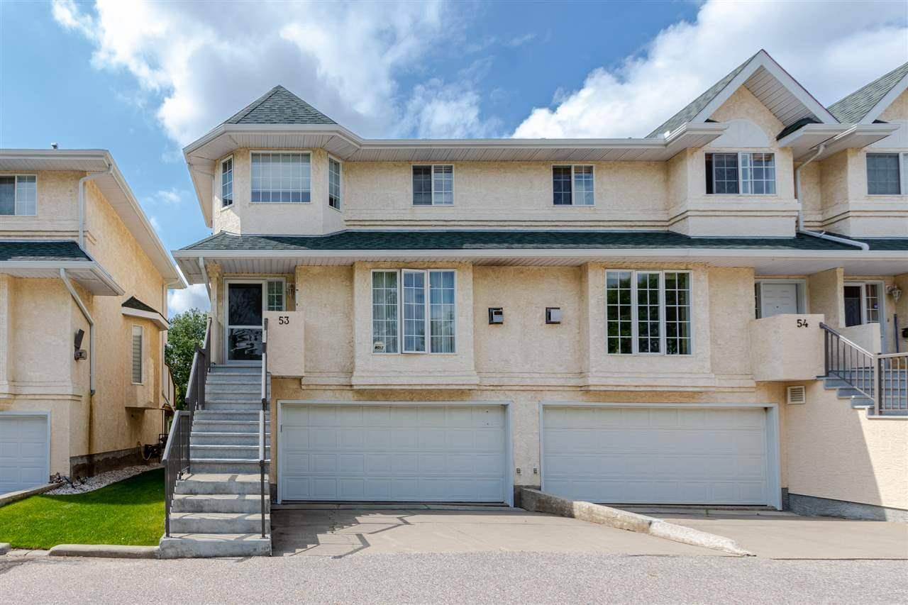 Townhouse for sale at 2419 133 Ave Nw Unit 53 Edmonton Alberta - MLS: E4167875