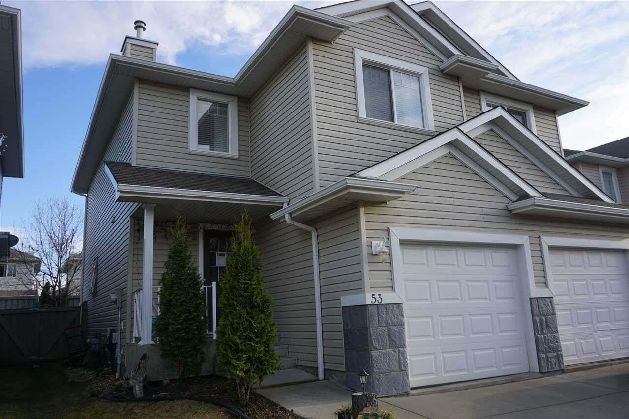 Townhouse for sale at 287 Macewan Rd SW Unit 53 Edmonton Alberta - MLS: E4193212