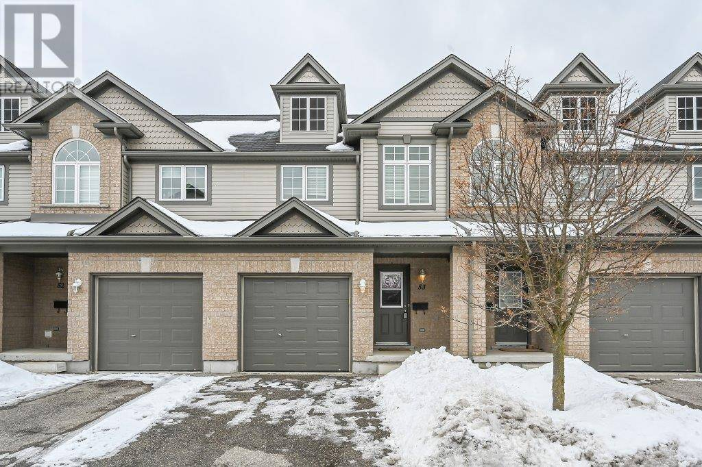 Townhouse for sale at 30 Vaughan St Unit 53 Guelph Ontario - MLS: 30792284
