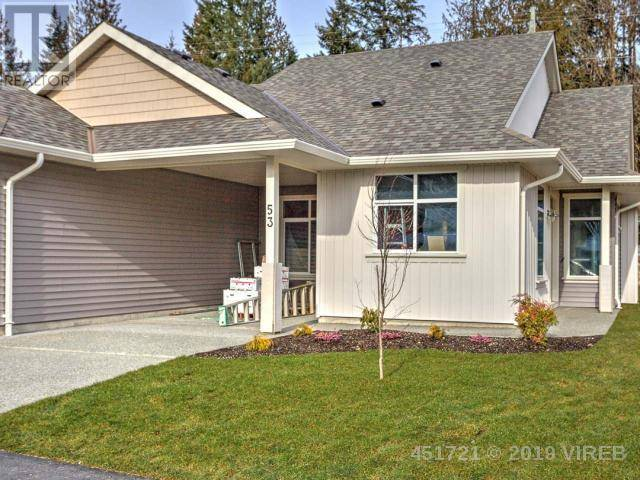 Townhouse for sale at 300 Grosskleg Wy Unit 53 Lake Cowichan British Columbia - MLS: 451721