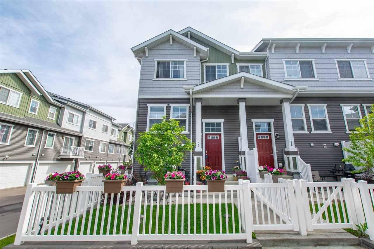 Townhouse for sale at 7385 Edgemont Wy Nw Unit 53 Edmonton Alberta - MLS: E4177976
