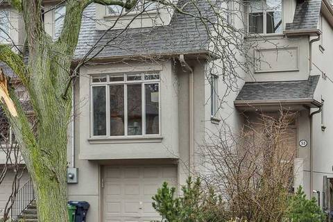 Townhouse for sale at 53 Belsize Dr Toronto Ontario - MLS: C4730363