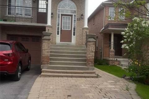 Townhouse for rent at 53 Belwood Blvd Vaughan Ontario - MLS: N4472255
