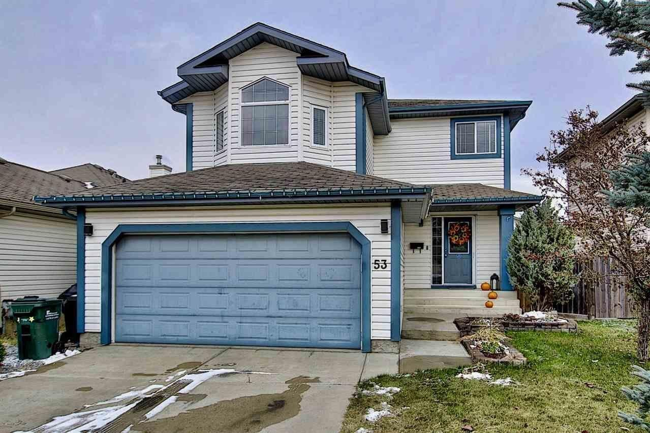 House for sale at 53 Crocus Wy Sherwood Park Alberta - MLS: E4218760