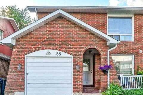 Townhouse for sale at 53 Crosswood Ln Brampton Ontario - MLS: W4809870