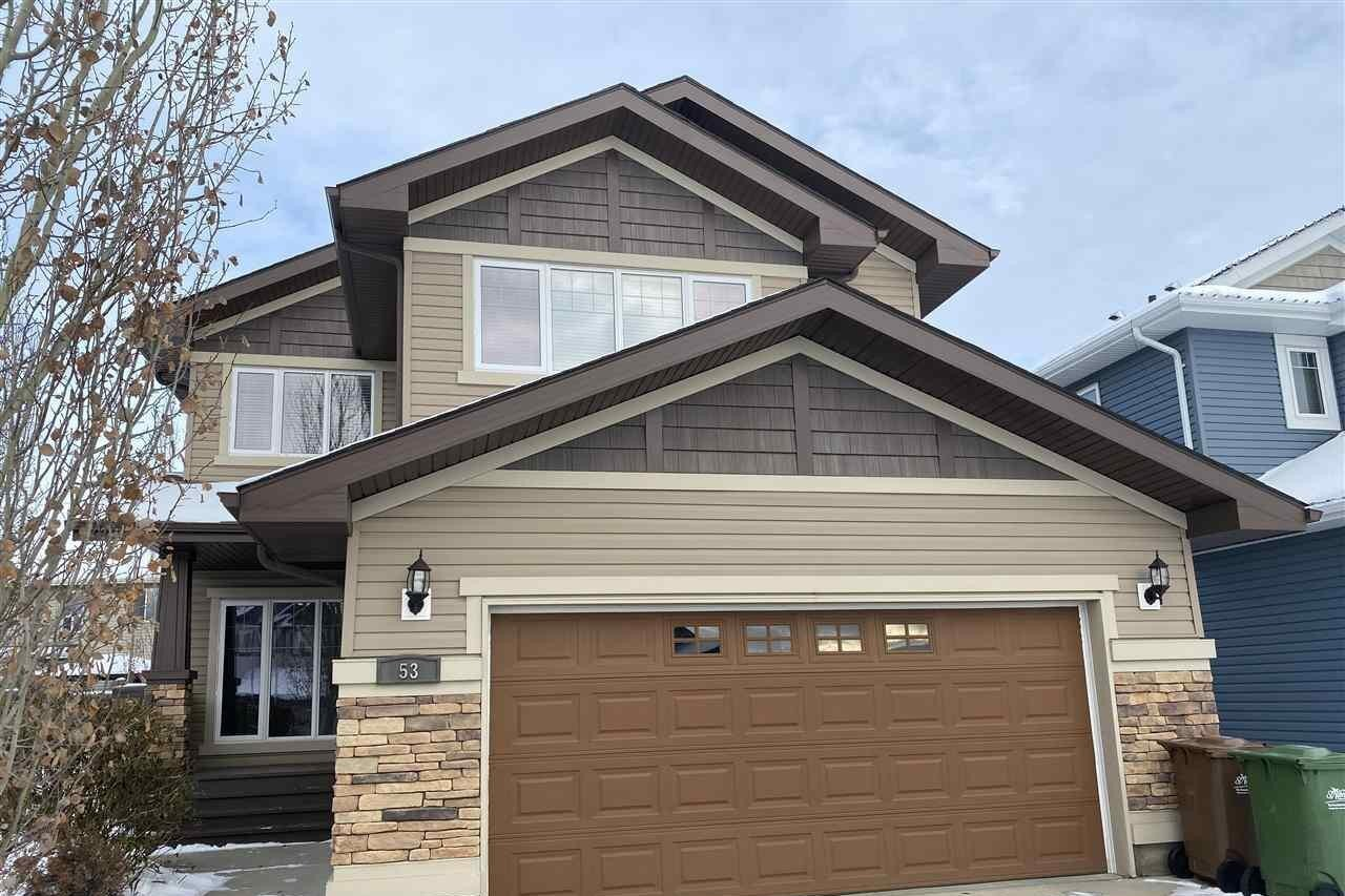 House for sale at 53 Ellington Cr St. Albert Alberta - MLS: E4215918