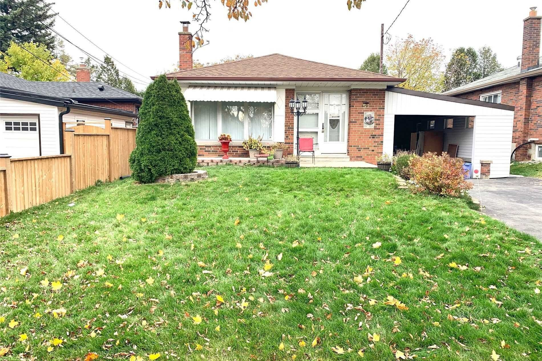 House for rent at 53 Fitzgibbon Ave Toronto Ontario - MLS: E4933091