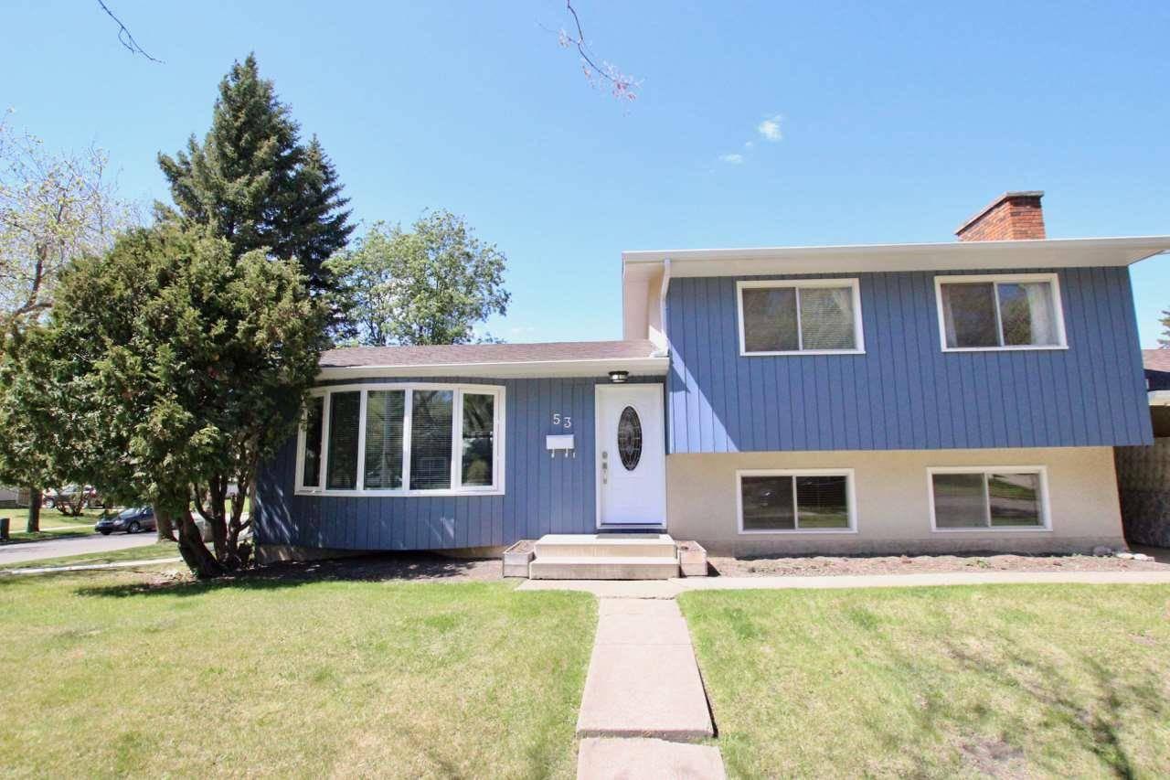 House for sale at 53 Glenhaven Cres St. Albert Alberta - MLS: E4176218