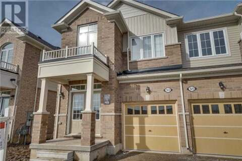 Townhouse for sale at 53 Hartley Ave Brant Ontario - MLS: X4787689