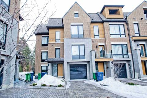 Townhouse for sale at 53 Kenneth Wood Cres Toronto Ontario - MLS: C4533239