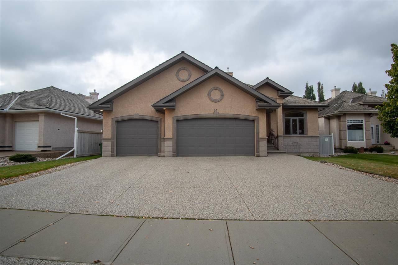 House for sale at 53 Kingsway Dr St. Albert Alberta - MLS: E4173469
