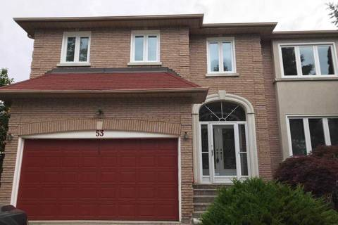 House for rent at 53 Lady Lynn Cres Richmond Hill Ontario - MLS: N4525660