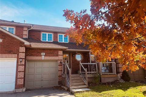 Townhouse for sale at 53 Lee Cres Barrie Ontario - MLS: S4608559