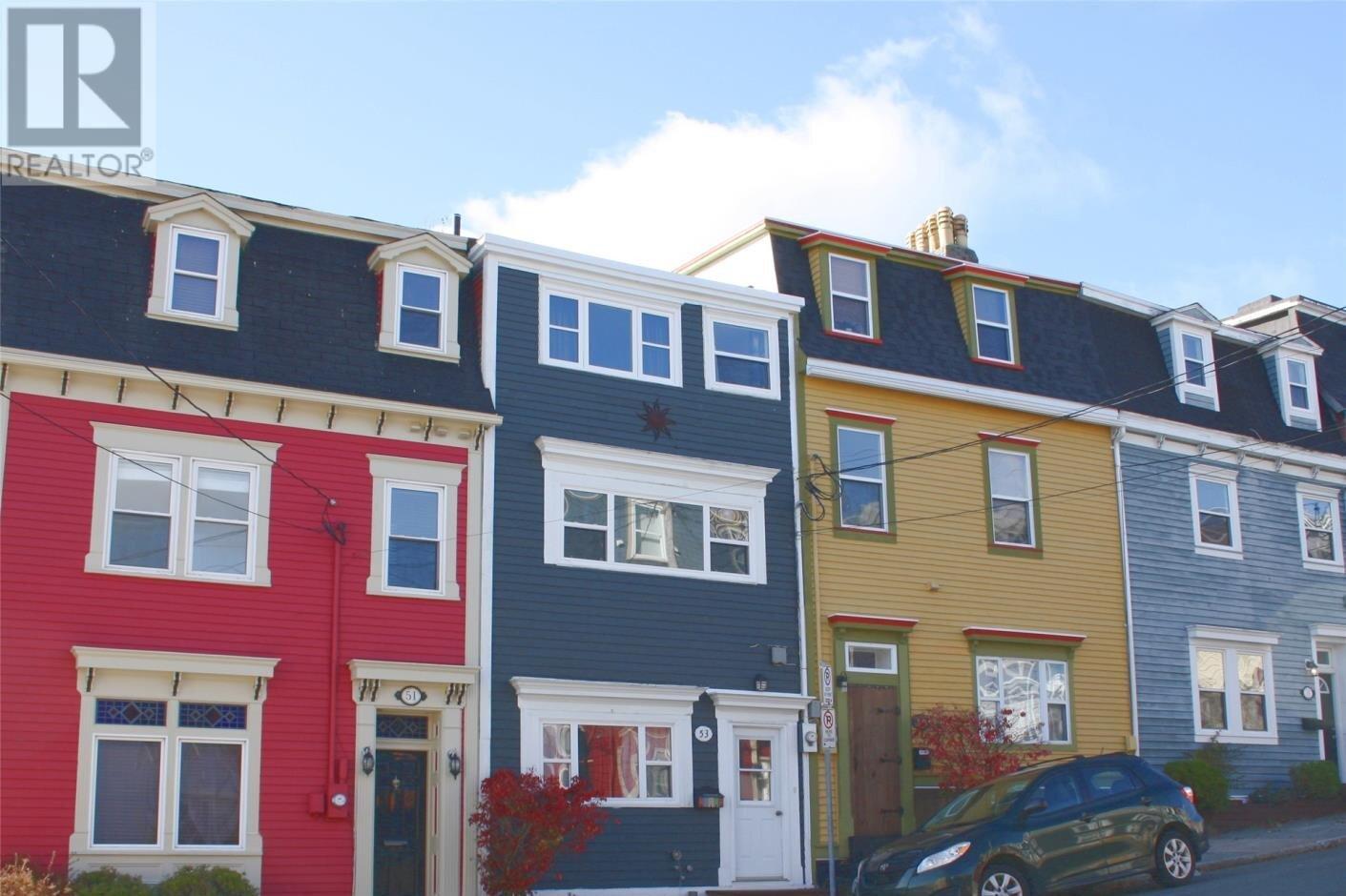 House for sale at 53 Prescott St St. John's Newfoundland - MLS: 1223631