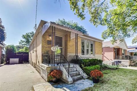 House for sale at 53 Savona Dr Toronto Ontario - MLS: W4602673