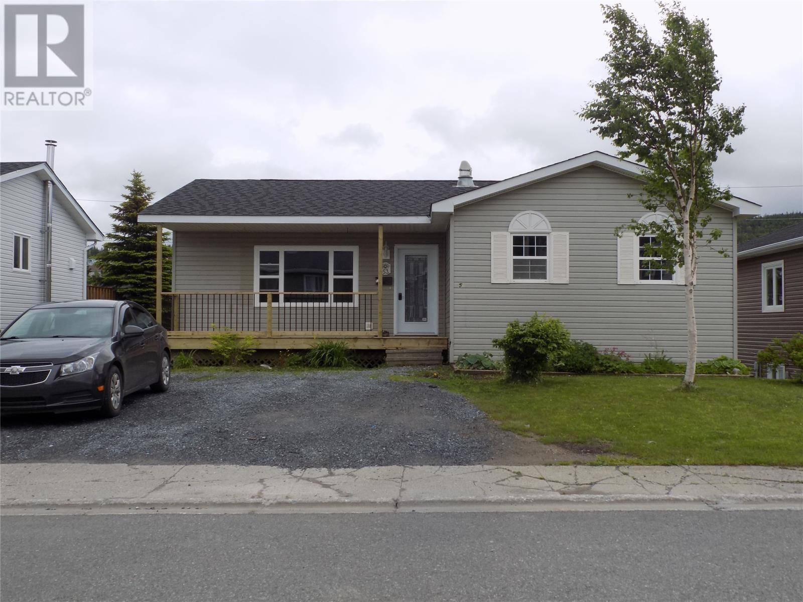 House for sale at 53 Shamrock Cres Corner Brook Newfoundland - MLS: 1199391