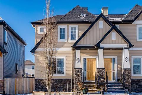 Townhouse for sale at 53 Skyview Springs Common Northeast Calgary Alberta - MLS: C4273805