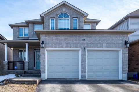 House for sale at 53 Sovereigns Gt Barrie Ontario - MLS: S4731243