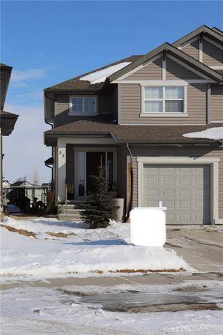 Townhouse for sale at 53 Sunset Common  Cochrane Alberta - MLS: C4278905