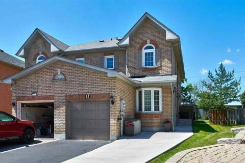 Townhouse for sale at 53 Widdifield Ave Newmarket Ontario - MLS: N4818138