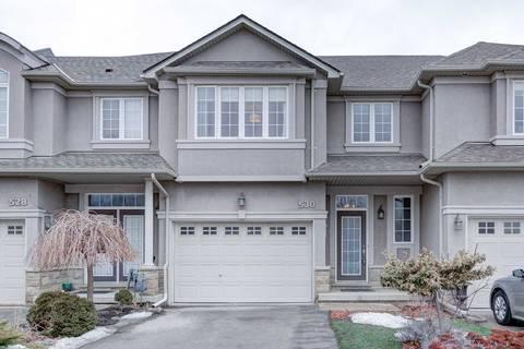Townhouse for sale at 530 Stonehenge Dr Hamilton Ontario - MLS: X4384203