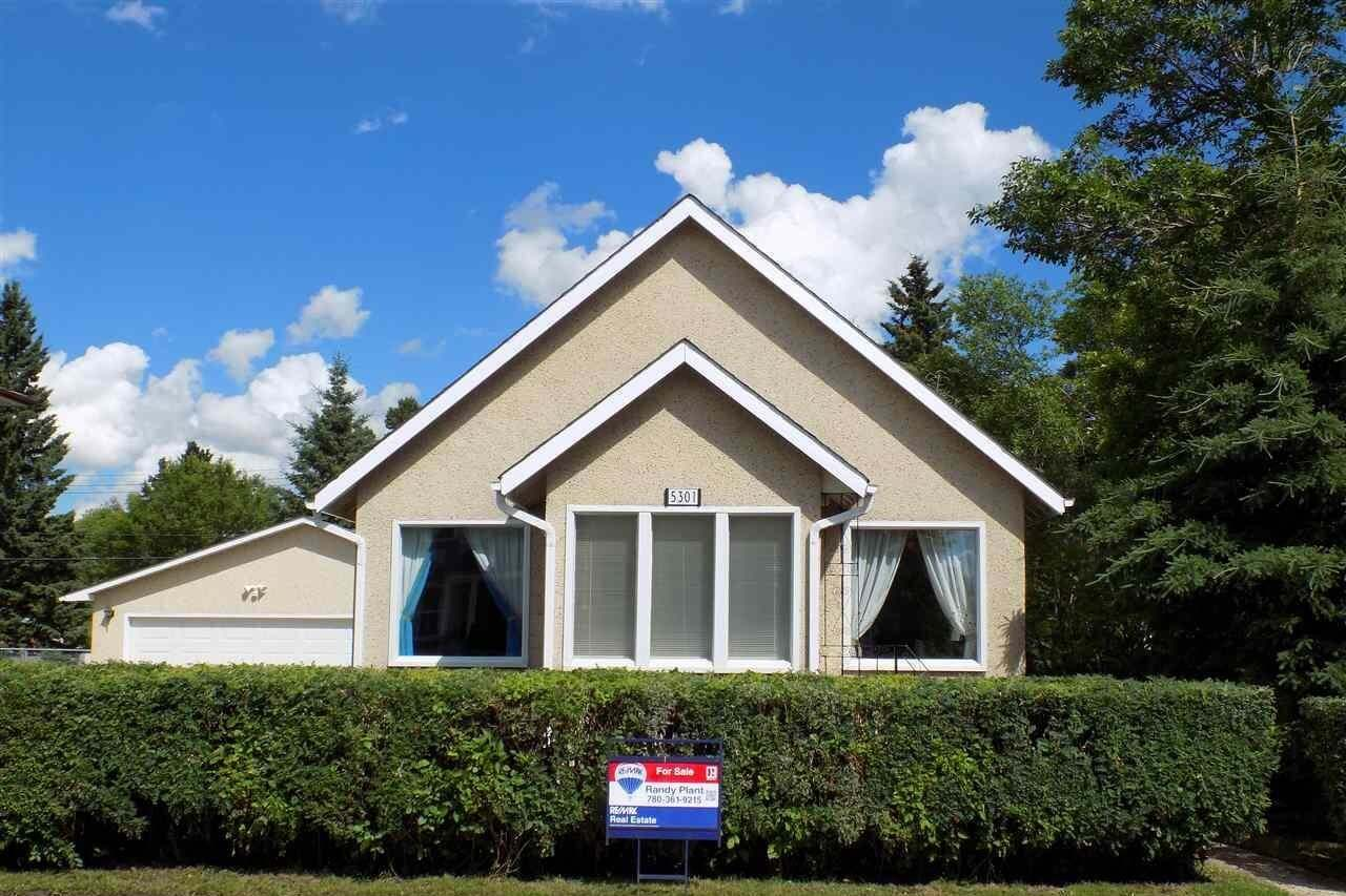 House for sale at 5301 47 St Wetaskiwin Alberta - MLS: E4204996