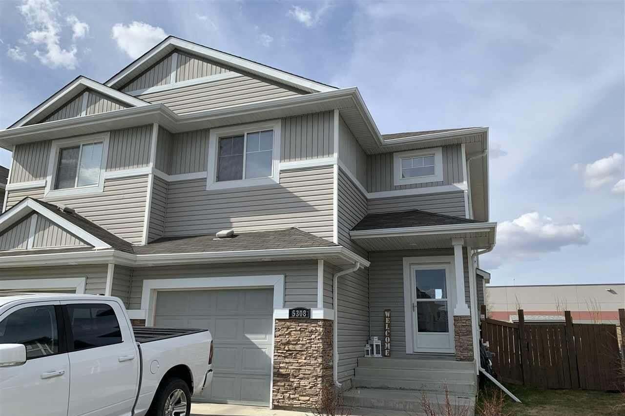 Townhouse for sale at 5308 165 Av NW Edmonton Alberta - MLS: E4187378