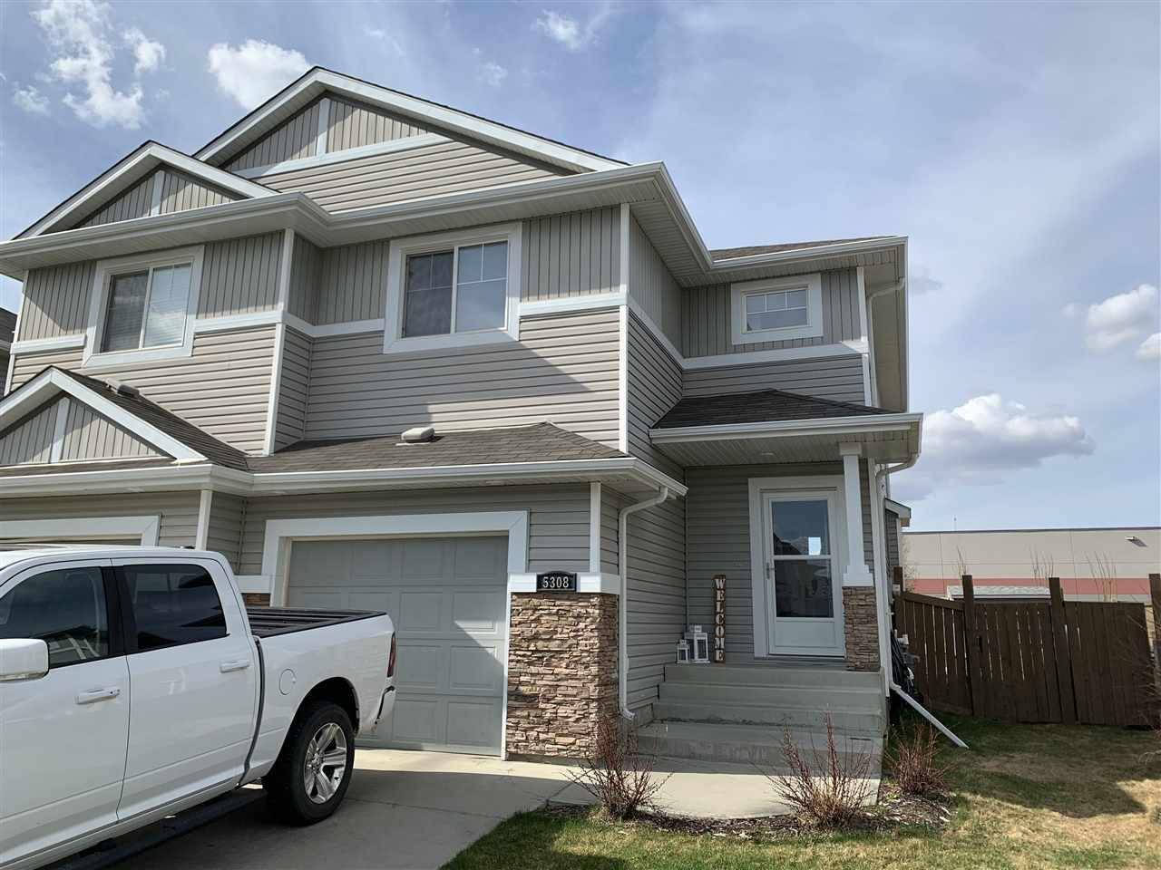 Townhouse for sale at 5308 165 Ave Nw Edmonton Alberta - MLS: E4187378