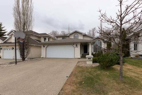 House for sale at 5308 187 St Nw Edmonton Alberta - MLS: E4153698