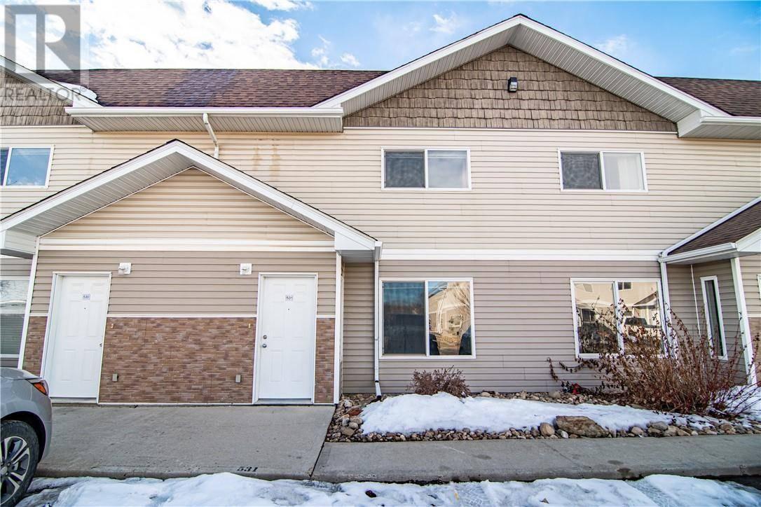 Townhouse for sale at 100 Jordan Pw Unit 531 Red Deer Alberta - MLS: ca0190311