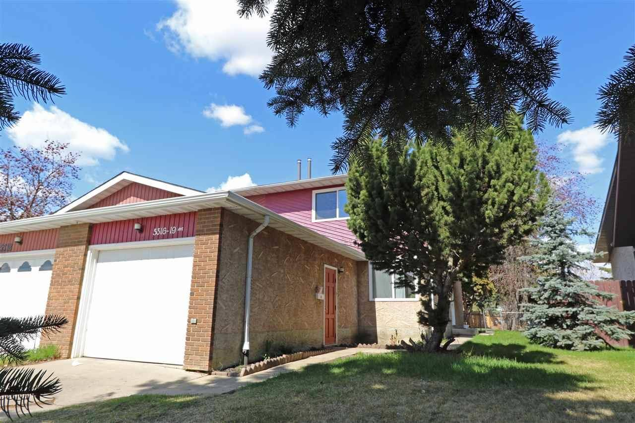 Townhouse for sale at 5316 19 Ave Nw Edmonton Alberta - MLS: E4144968